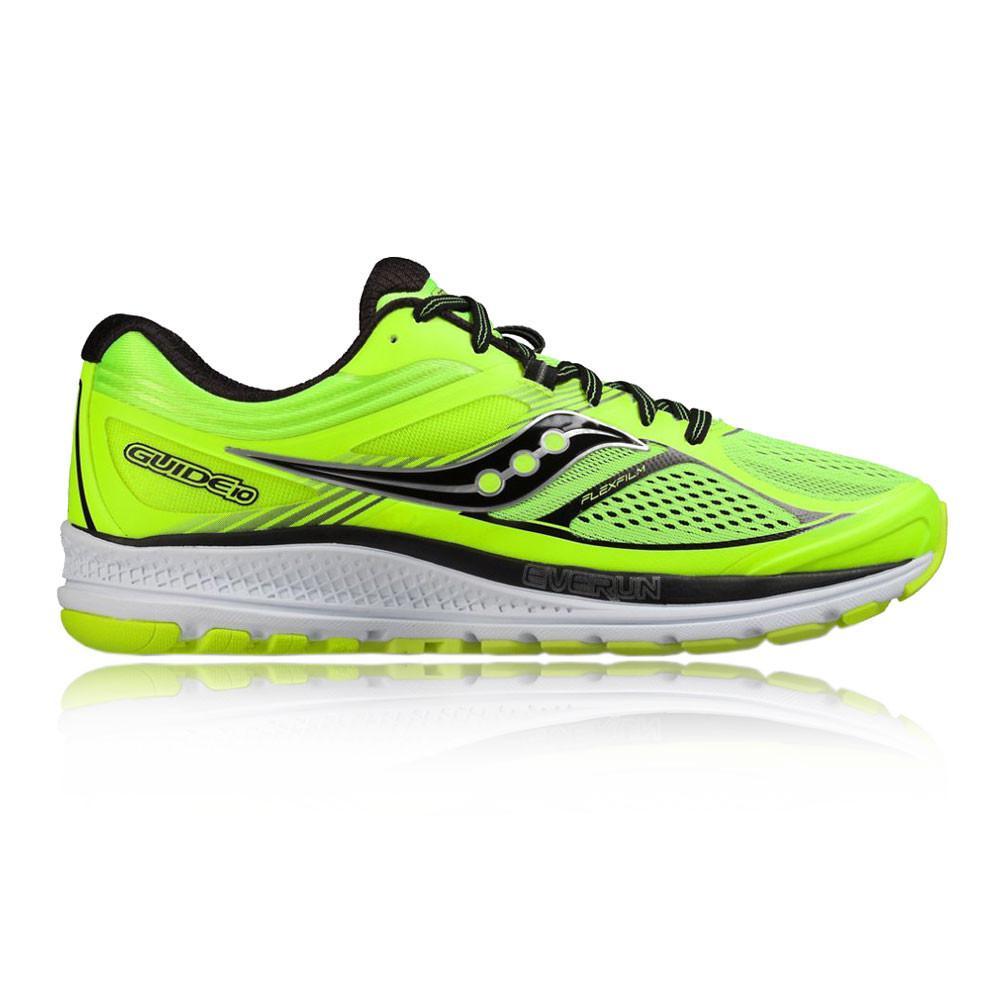 Saucony – Hombre Guide 10 Zapatillas De Running  – Ss17 Correr Verde
