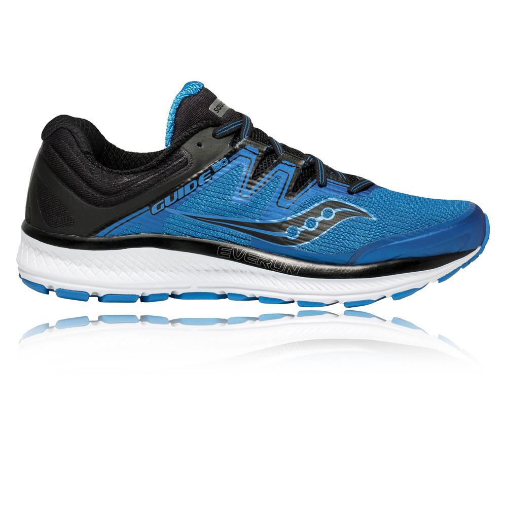Saucony – Hombre Guide Iso Zapatillas De Running  – Ss18 Correr Azul/Negro