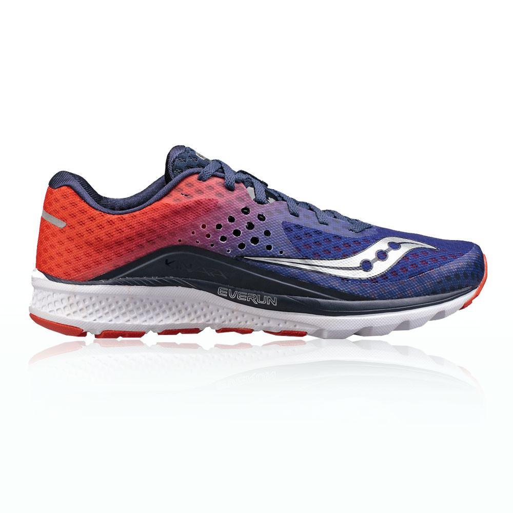 Saucony – Hombre Kinvara 8 Zapatillas De Running  – Aw17 Correr Naranja/Azul Marino