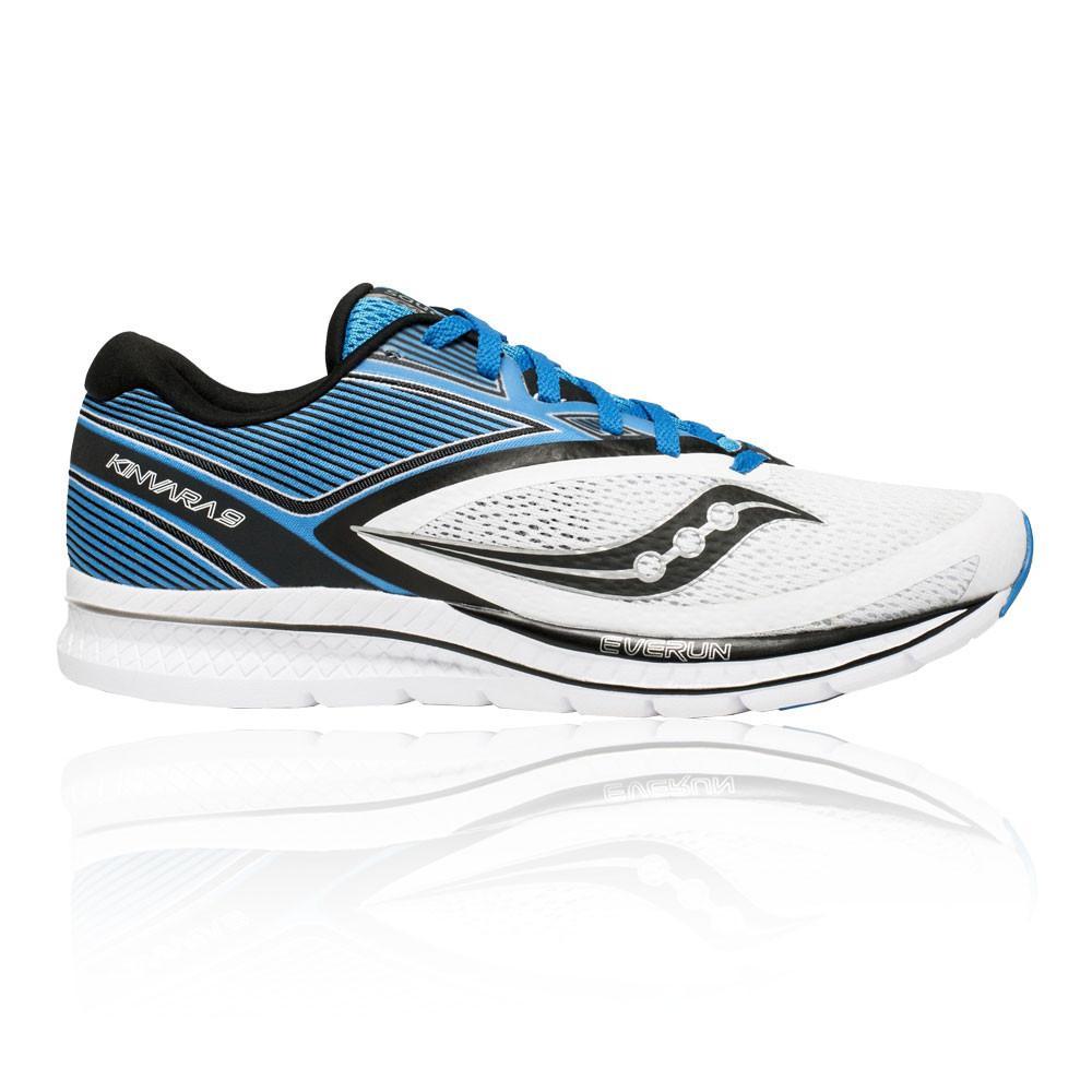 Saucony – Hombre Kinvara 9 Zapatillas De Running  – Ss18 Correr Blanco/Azul