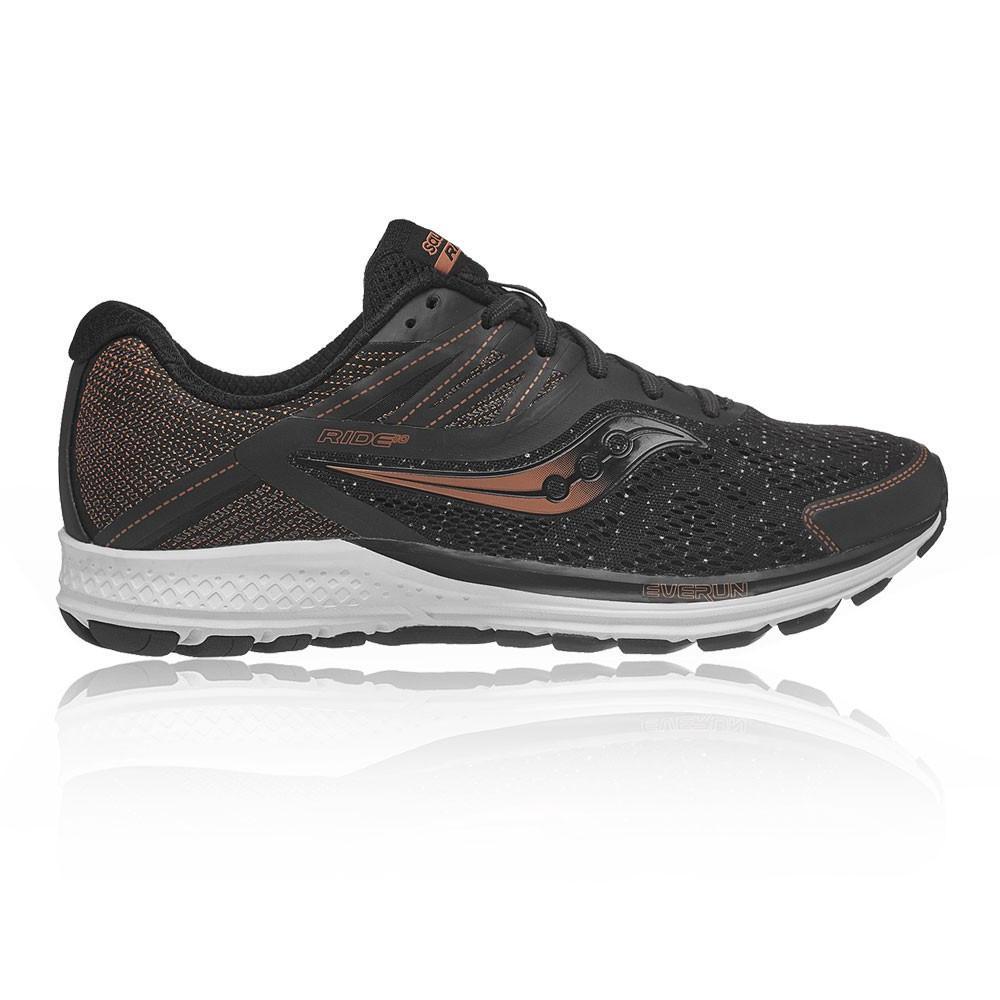 Saucony – Hombre Ride 10 Denim Zapatillas De Running  – Ss18 Correr Negro