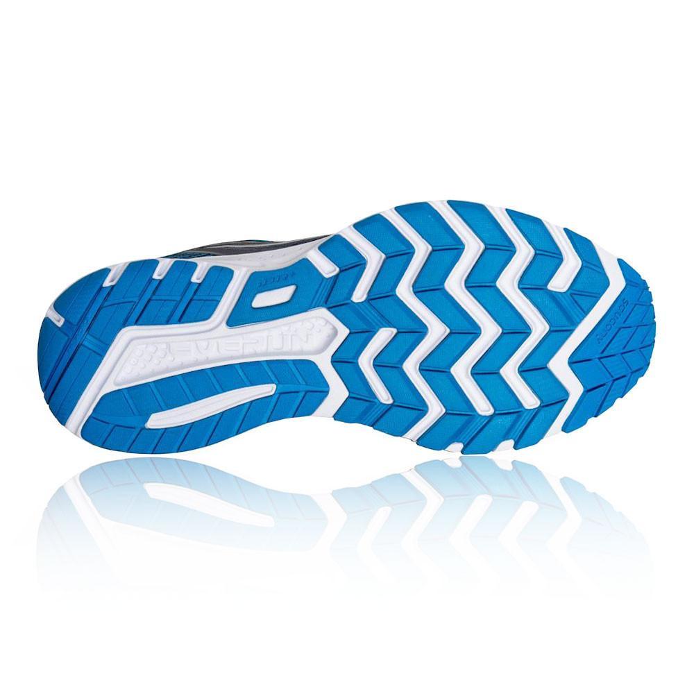 Saucony – Hombre Ride 10 Zapatillas De Running  – Ss18 Correr Gris/Azul