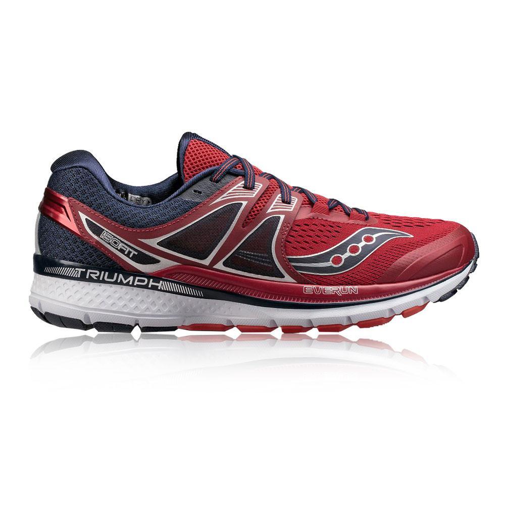 Saucony – Hombre Triumph Iso 3 Zapatillas De Running  – Aw17 Correr Rojo