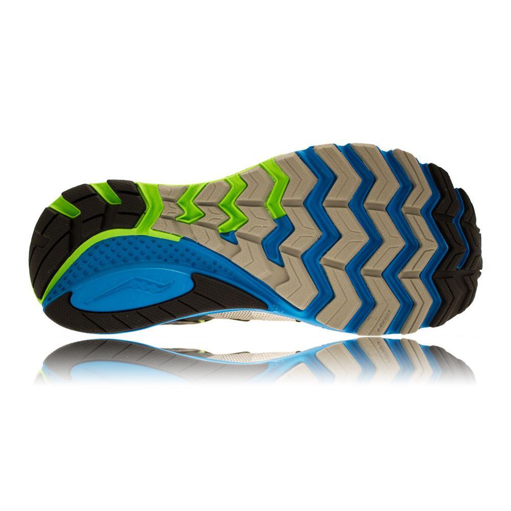 Saucony – Hombre Zealot Iso 2 Zapatillas De Running Correr Verde/Azul/Plateado