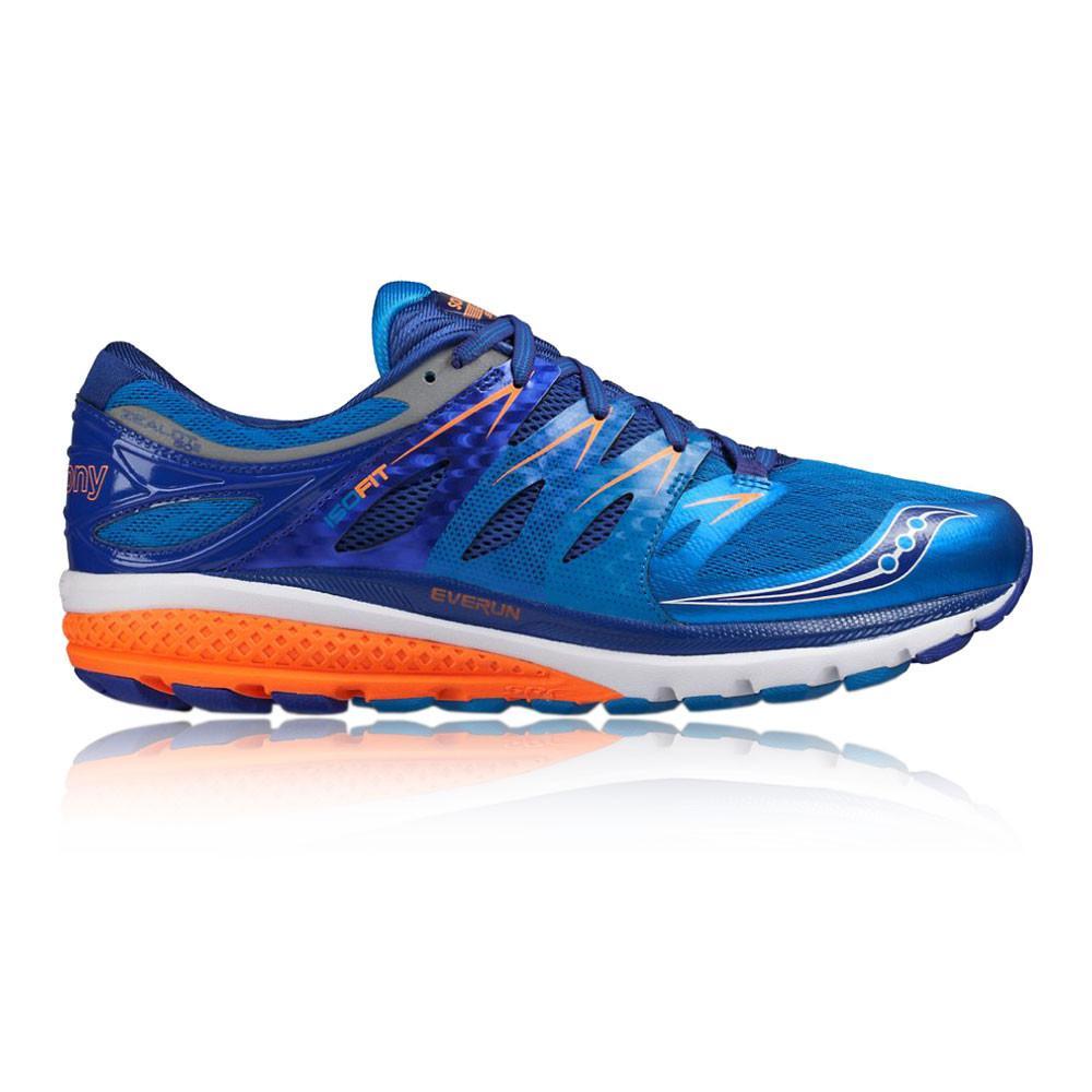 Saucony – Hombre Zealot Iso 2 Zapatillas De Running  – Ss17 Correr Naranja/Azul