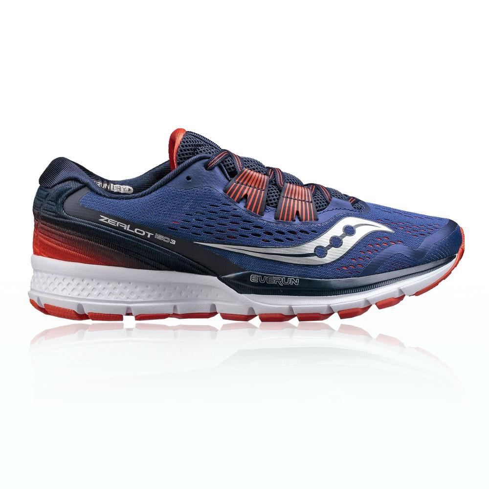 Saucony – Hombre Zealot Iso 3 Zapatillas De Running  – Aw17 Correr Naranja/Azul