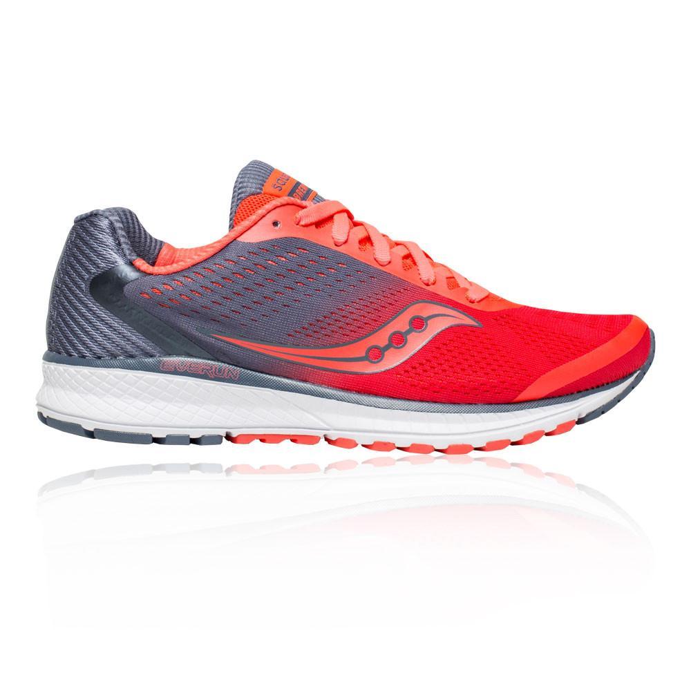 Saucony – Mujer Breakthru 4 Para Mujer Zapatillas De Running  – Ss18 Correr Rojo/Gris