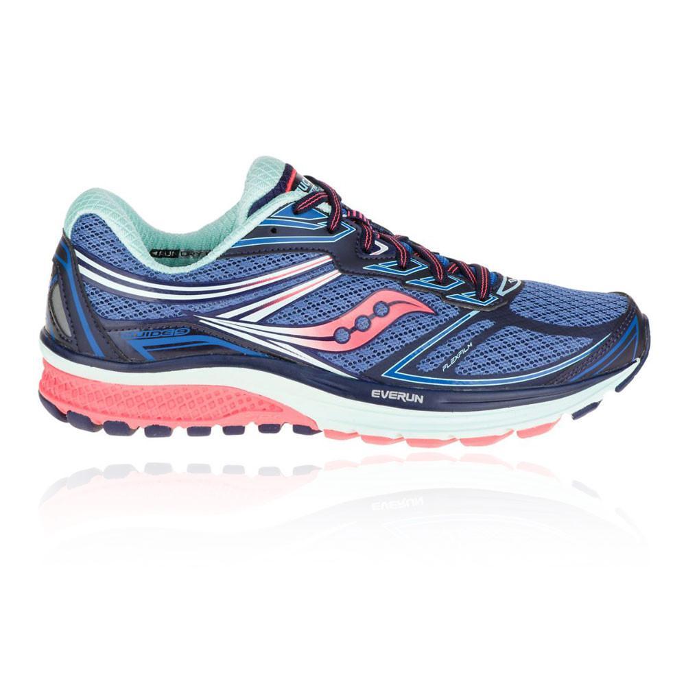 Saucony – Mujer Guide 9 Para Mujer Zapatilla De Running Correr Azul