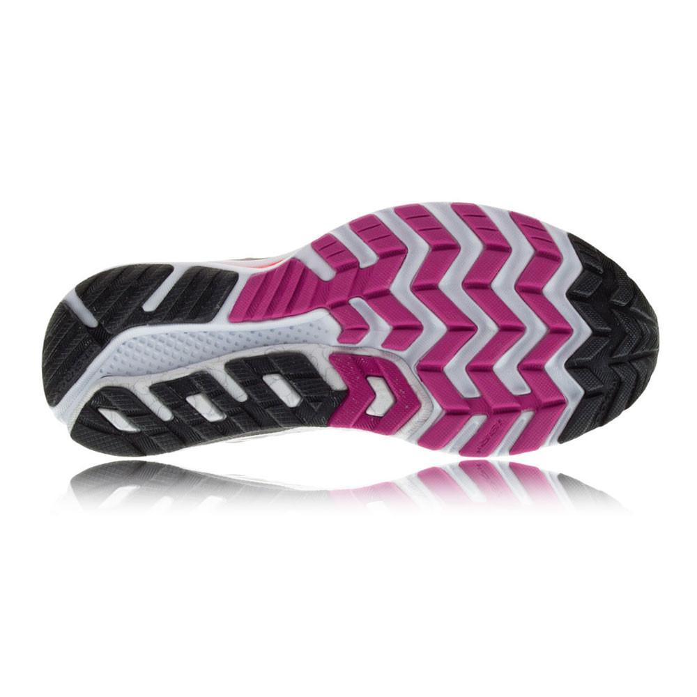 Saucony – Mujer Hurricane Iso 2 Para Mujer Zapatillas De Running Correr Blanco/Negro/Morado