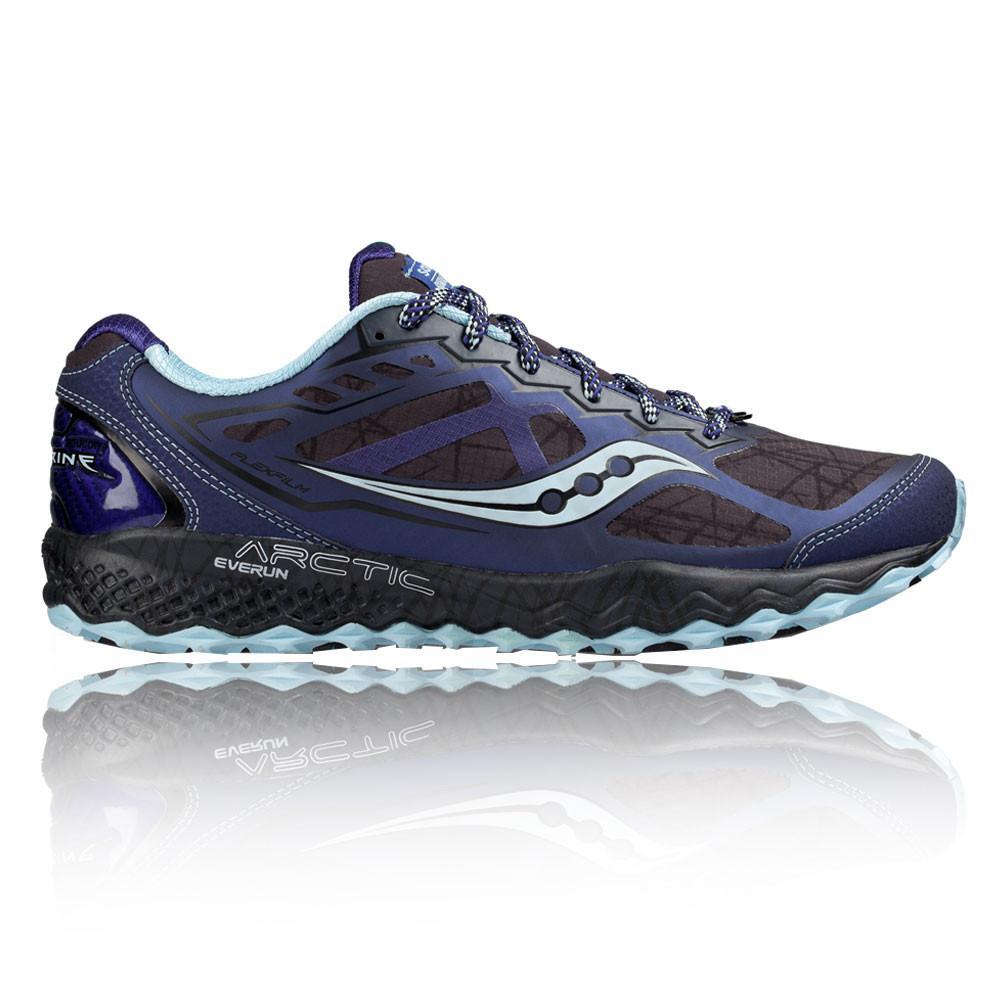 Saucony – Mujer Peregrine 6 Ice Para Mujer Zapatillas De Running Correr Azul