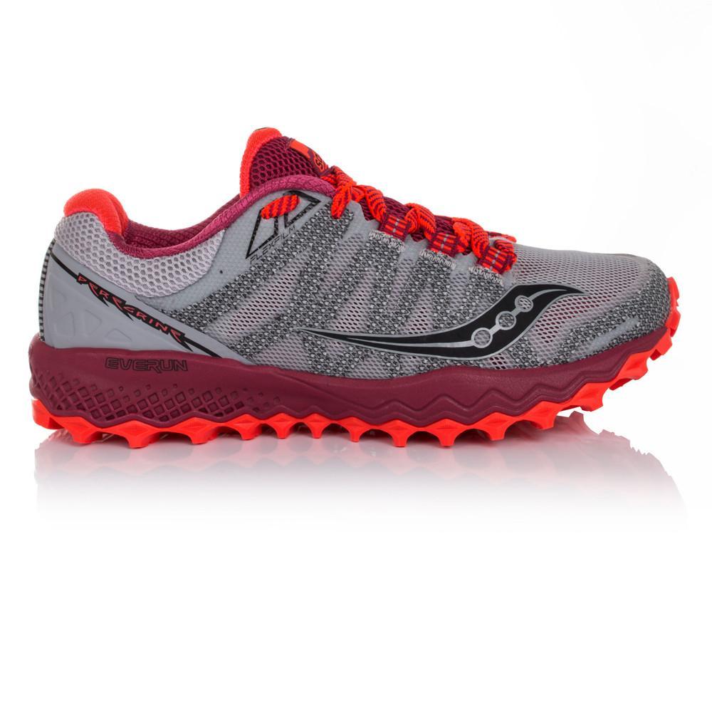 Saucony – Mujer Peregrine 7 Para Mujer Zapatillas De Running  – Aw17 Correr Gris