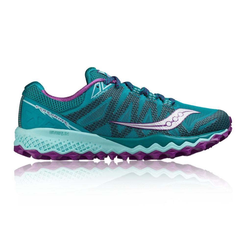 Saucony – Mujer Peregrine 7 Para Mujer Zapatillas De Running  – Ss17 Correr Verde