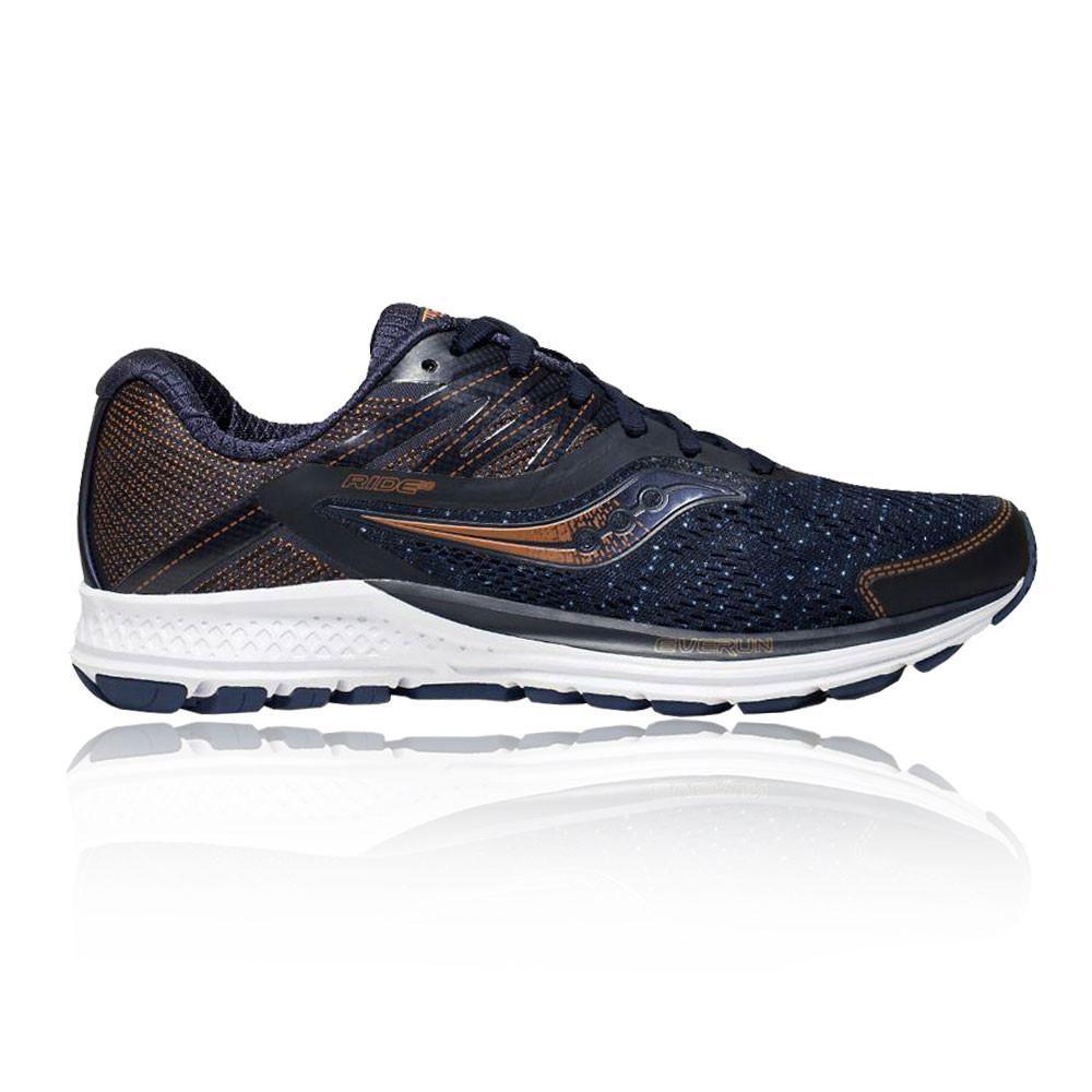 Saucony – Mujer Ride 10 Denim Para Mujer Zapatillas De Running  – Ss18 Correr Azul Marino