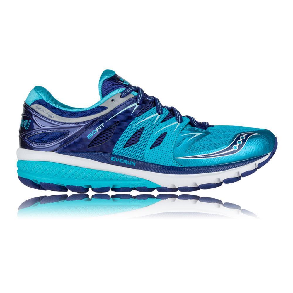 Saucony – Mujer Zealot Iso 2 Para Mujer Zapatillas De Running Correr Azul/Azul Marino