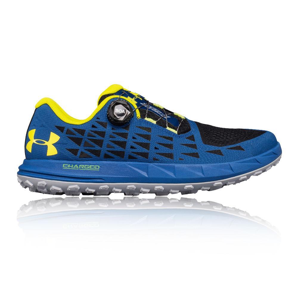 Under Armour – Hombre Fat Tire 3 Trail Zapatillas De Running  – Ss18 Correr Azul