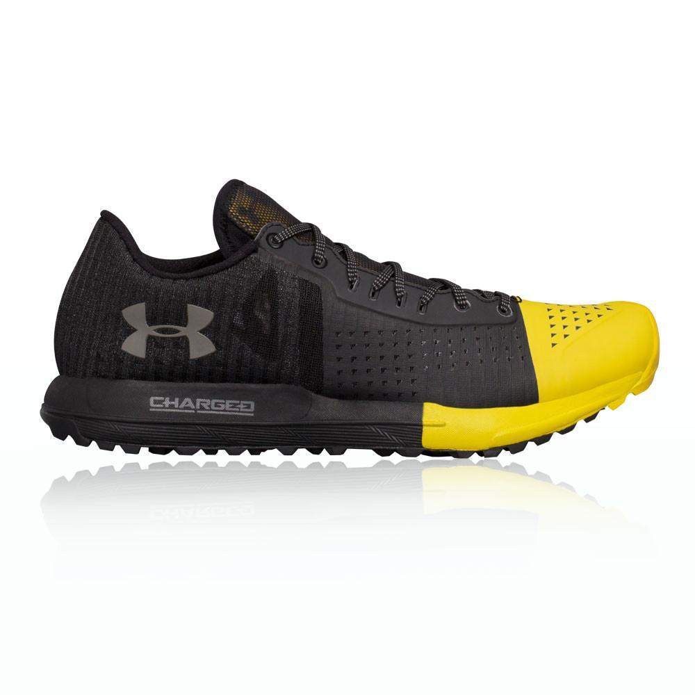 Under Armour – Hombre Horizon Ktv Trail Zapatillas De Running  – Aw17 Correr Amarillo/Negro