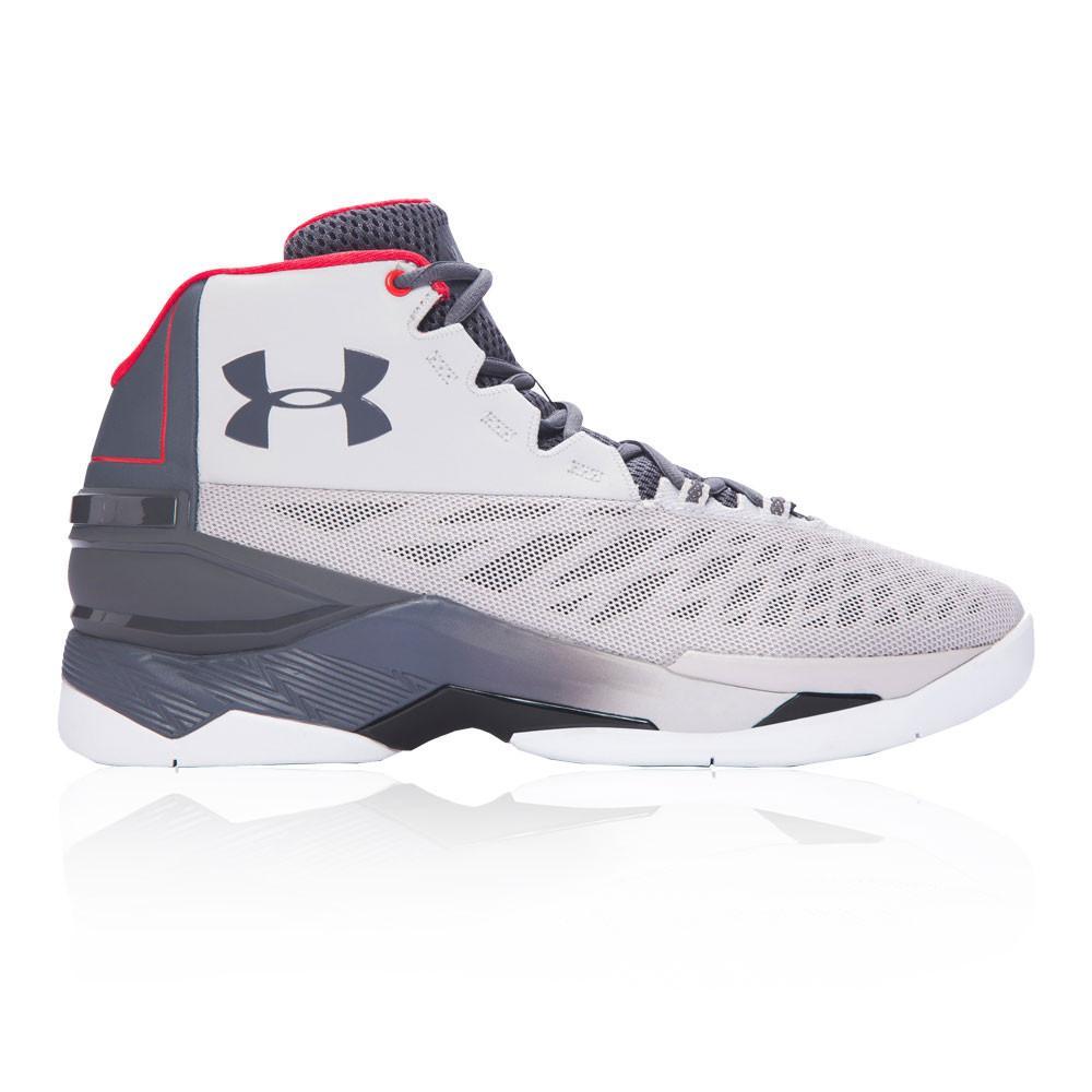 Under Armour – Hombre Longshot Zapatillas De Baloncesto Baloncesto Gris