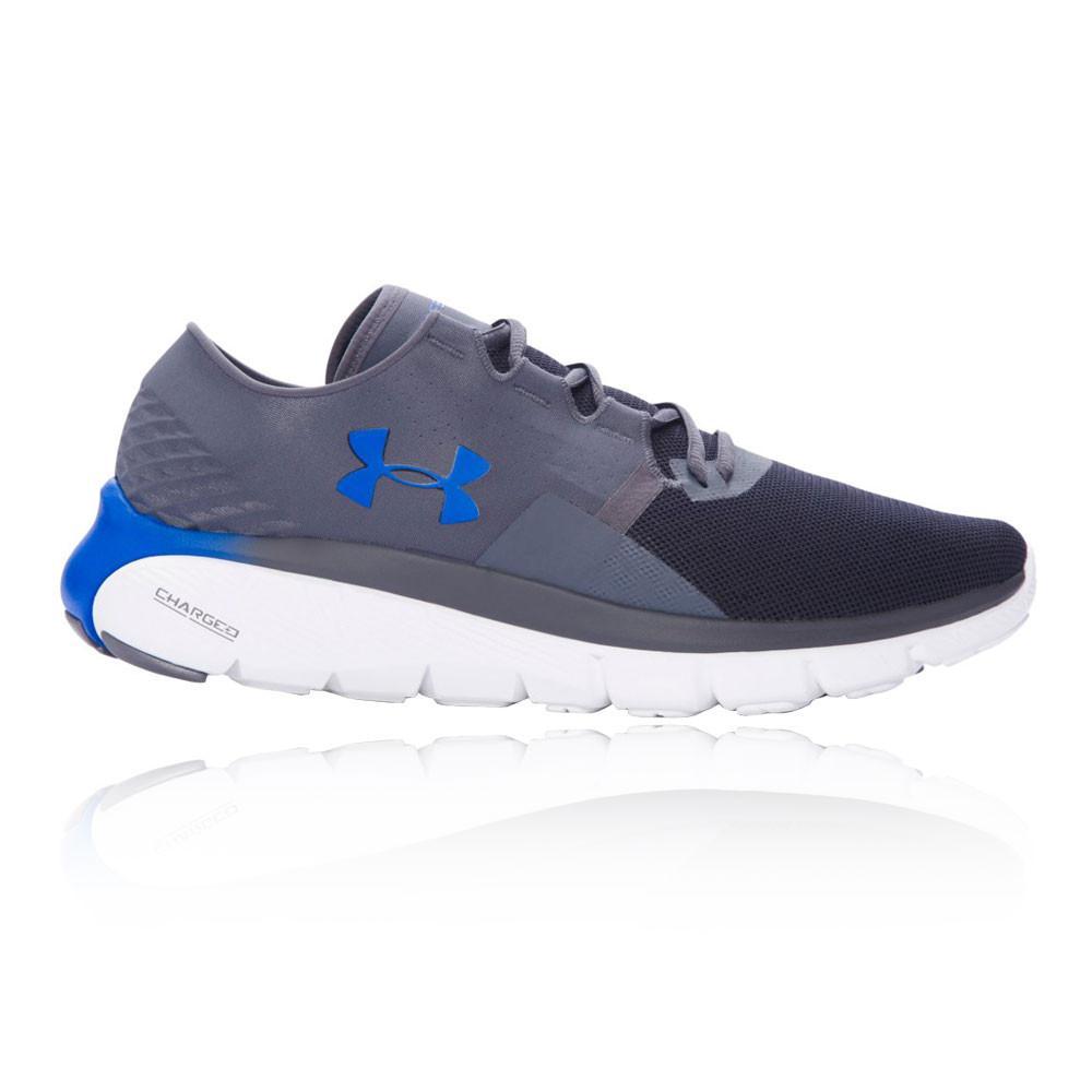 Under Armour – Hombre Speedform Fortis 2.1 Zapatillas De Running  – Ss17 Correr Gris